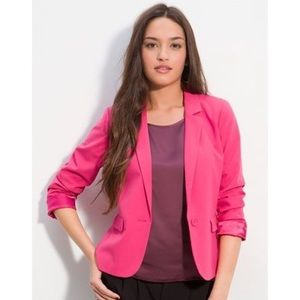Frenchi hot pink blazer